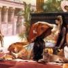 毒を試させるクレオパトラ